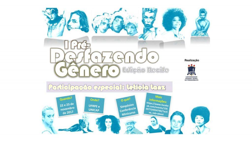 I Pré-Desfazendo Gênero (Edição Recife)