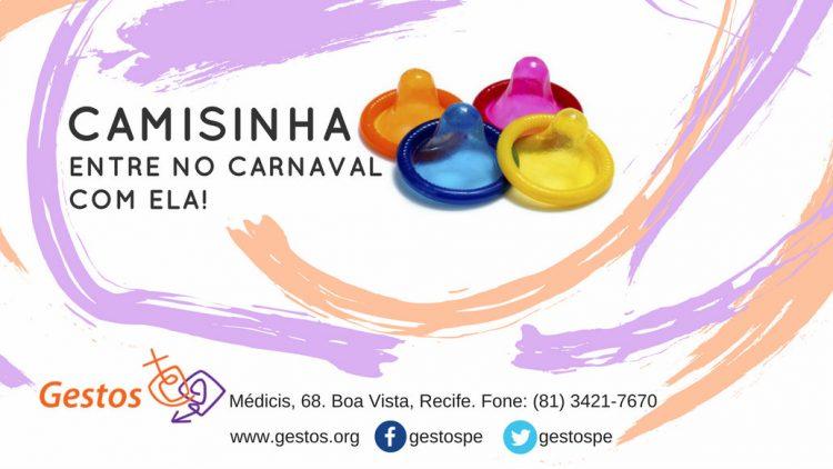 Carnaval 2018: Gestos distribuirá camisinhas masculinas e femininas