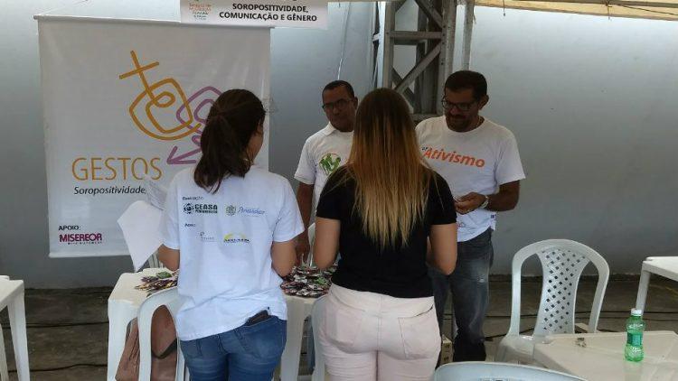Gestos está presente na 6ª Semana de Mobilização Cidadã do Ceasa