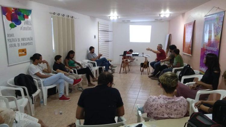 Gestos realiza formação sobre prevenção combinada para Gays, HSH, Travestis e Transexuais