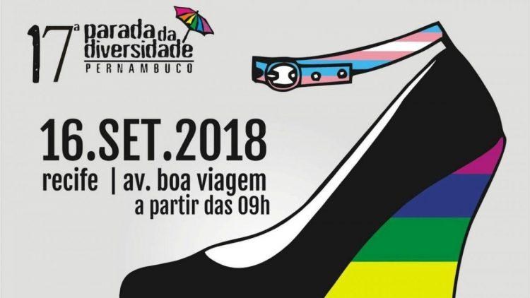 Gestos divulga sondagem sobre a Parada da Diversidade e distribuirá preservativos 17ª edição do evento