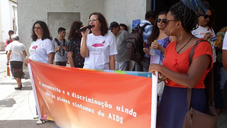Gestos e Articulação Aids denunciam situação da Saúde em Pernambuco