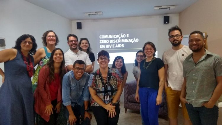 Comunicadores participam de workshop do Unaids no Recife