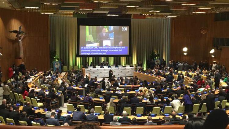 Gestos participa da Cúpula de Alto Nível sobre Acesso Universal à Saúde na ONU
