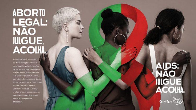 Gestos lança campanha para reduzir estigma e preconceito contra mulheres que recorrem ao aborto previsto em lei