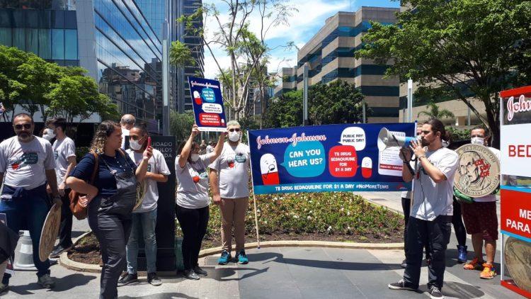 Articulação Brasileira contra a Tuberculose protesta por acesso ao medicamento bedaquilina
